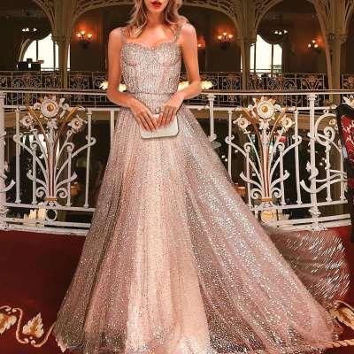 Sexy Sleeveless Vest Evening Dresses