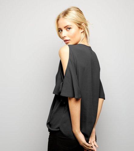 Fashion Off shoulder V neck T-Shirts