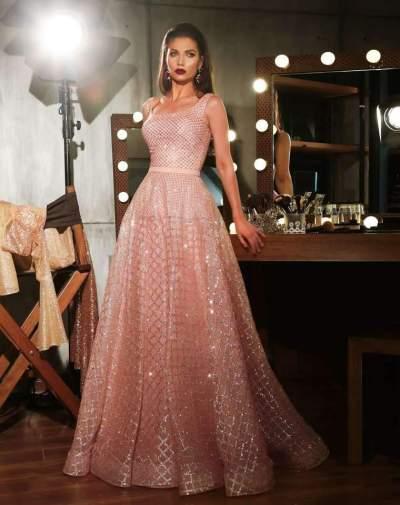 Fashion Sleeveless Gilding Evening Dresses