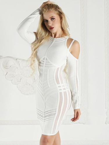 Sexy Off-the-shoulder Bandage Bodycon Dresses