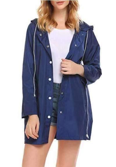 Fashion Pure Hoodies Trench Coats