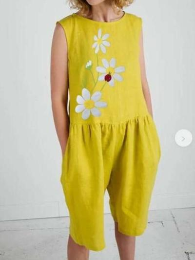 Fashion Casual Print Round neck Sleeveless Gored Jumpsuits