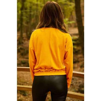 Women Casual Lacing Long sleeve Sweatshirts