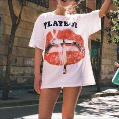 Fashion Casual Loose Round neck Short sleeve T-Shirts