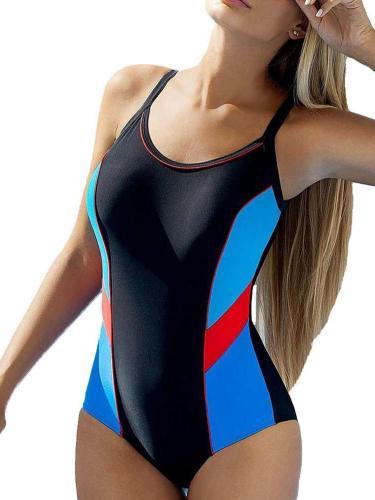 Sexy Gored Jumpsuits Swimwear