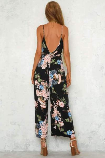 Casual Sexy V neck Vest Jumpsuits