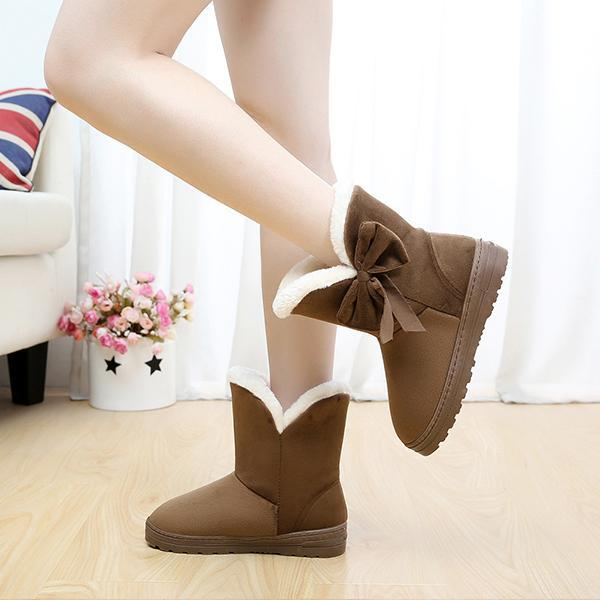 Women's Thermal Boots Winter Flat Heel Cotton Boots
