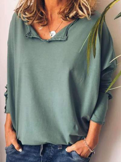Plus Loose Long sleeve T-Shirts