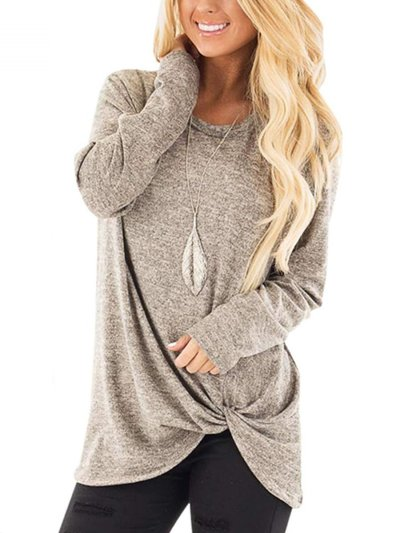 New Plain Long Sleeve Autumn Woman T-shirts