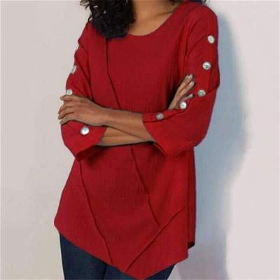 Pure Fastener Long sleeve Round neck T-Shirts