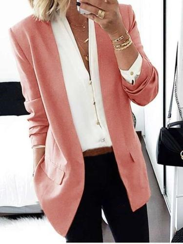 Fashion Pure Long sleeve Tee Blazer
