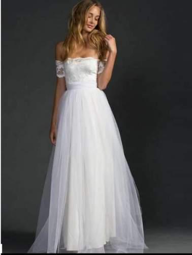 Fashion Off shoulder Lace Evening Dresses