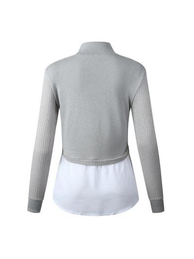 Women high neck fashion Sweaters