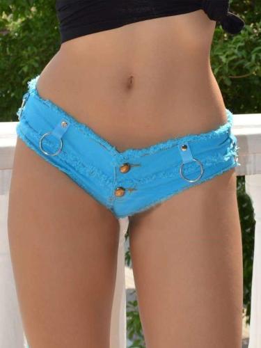 Summer Low-rise Jeans Hot Pants