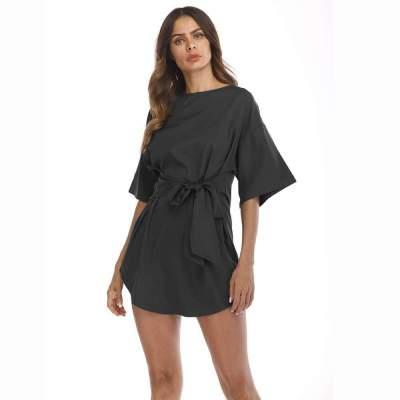 Fashion Loose Short sleeve Skater Dresses