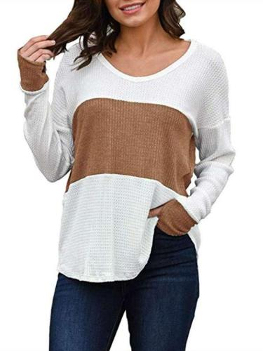 Loose Gored Long sleeve T-Shirts