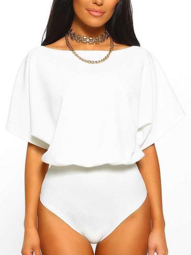 Fashion Sexy Round neck Short sleeve Jumpsuits