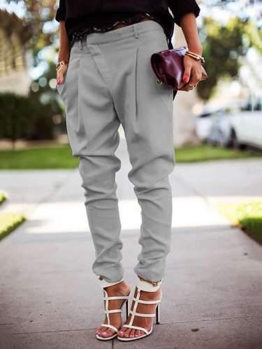 Casual High Waist Harlan Tight Trousers long Pants