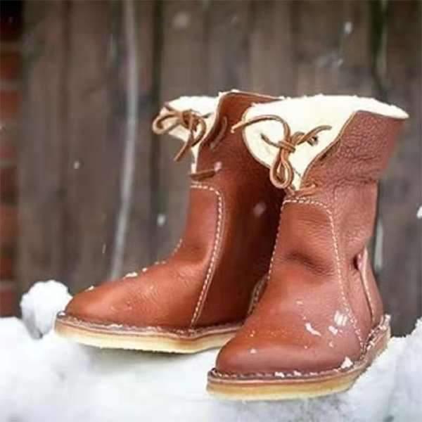 Winter warm plain Boots