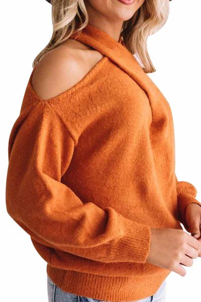 Hollow-out Loose Sweaters