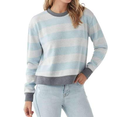 Stylish Stripe Round neck Long sleeve T-Shirts