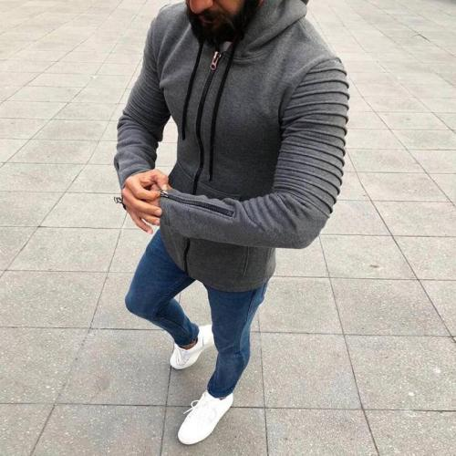 Autumn Winter Men Hip-hop Street Casual Hoodies