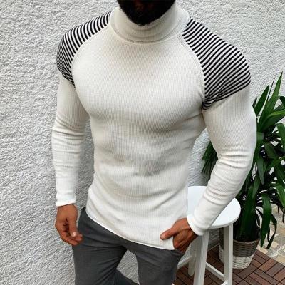Men's Casual Slim Long Sleeve Turtleneck Sweater