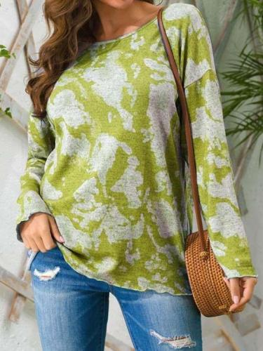 Trendy casual round neck long sleeve T-Shirts