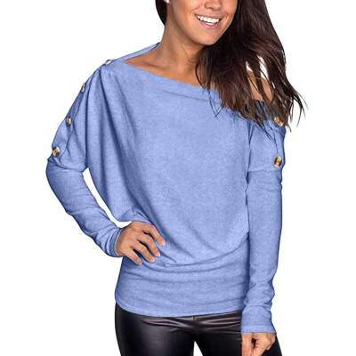 Pure One shoulder Long sleeve T-Shirts