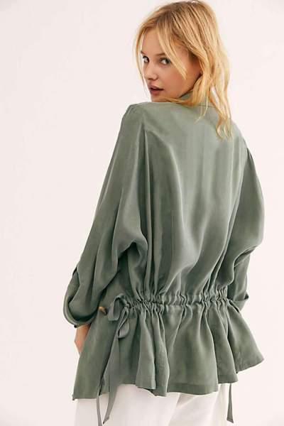 Wome Pure Lapel Long sleeve Coats