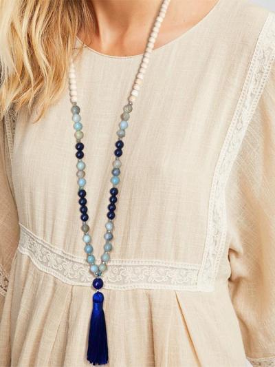 Women Bohemia Long Necklaces