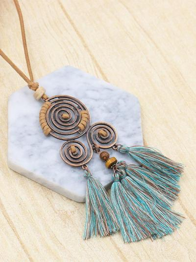 Vintage tassel Necklaces