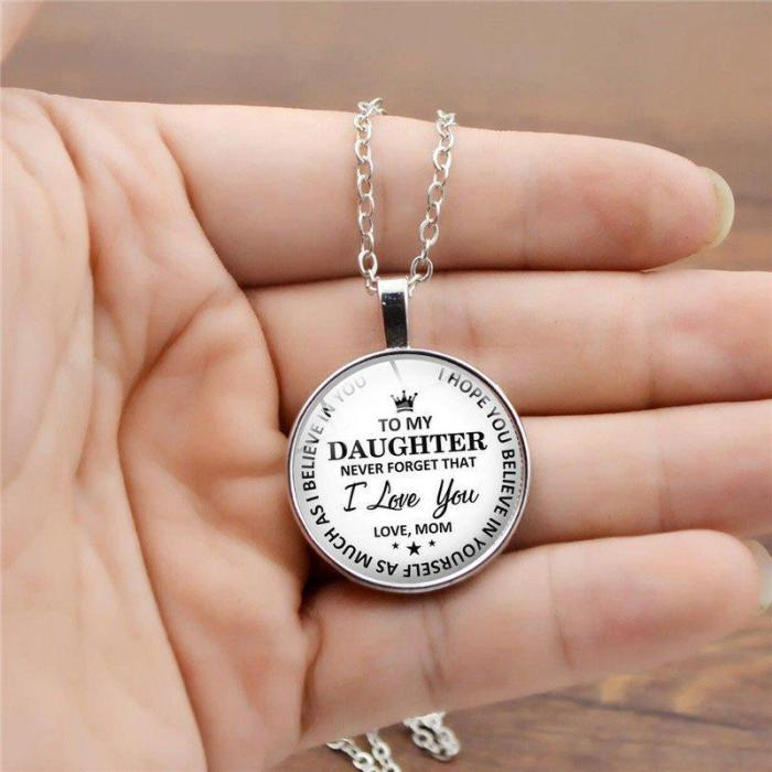 Fashion Word Printed Necklaces