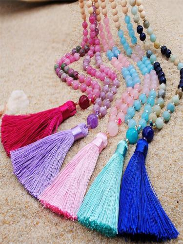 Women Bohemia Long Necklaces
