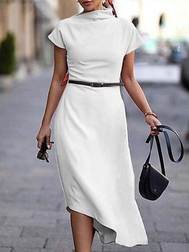 Work Short Sleeve Dresses Bodycon Dresses