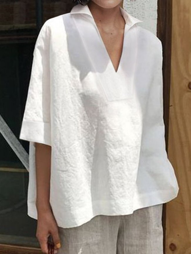 Women Casual Tops Tunic Blouse Shirts