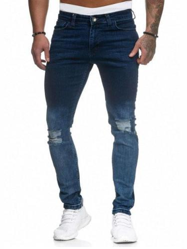 Fashion Casual Ripped Jeans
