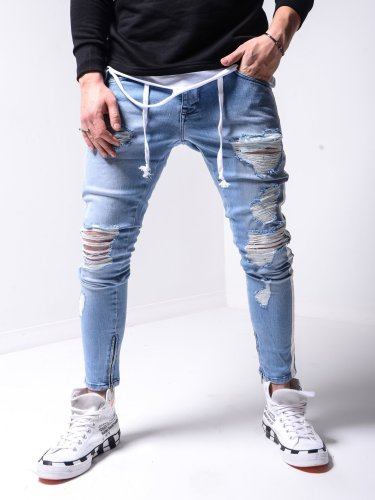 Ripped Casual Jeans