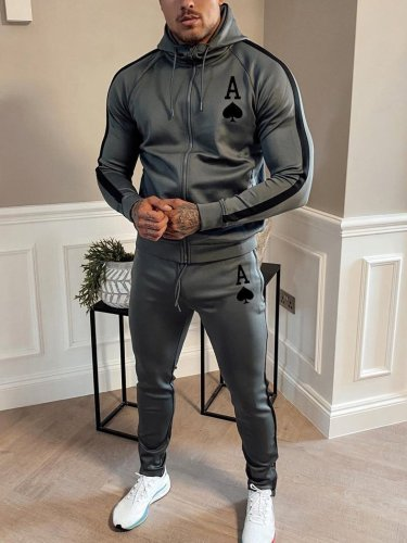Fashion Printed Casual Tracksuits