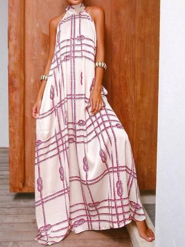 Halter Holiday Bohemia Dresses