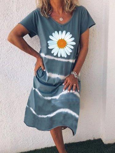 V Neck Casual Dresses