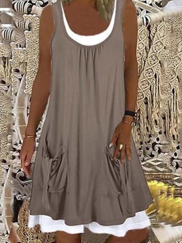 Cotton Casual A-Line Dresses