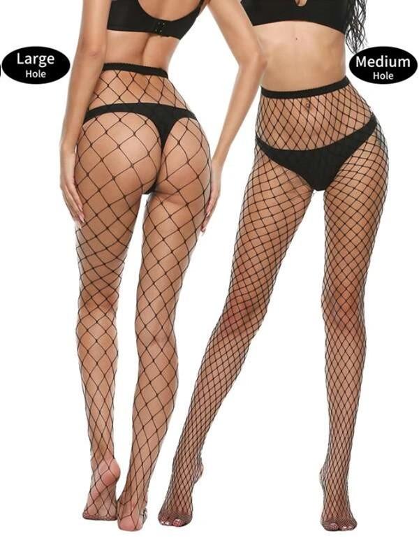 FREE GIFT: Sexy Plain Fishnet Tight Socks