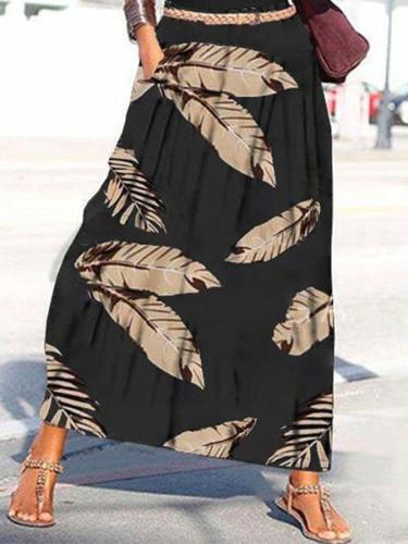 Black Casual Cotton-Blend Dresses