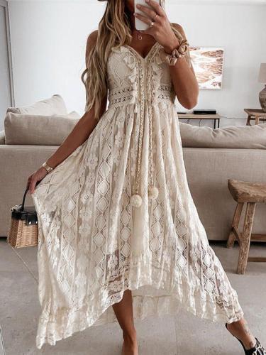 Vintage V Neck Dresses