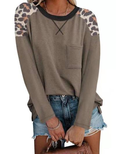 Some Leopard printed long sleeve T-shirts