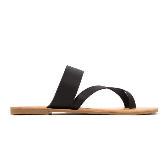 Women Date Flat Heel Summer Sandals