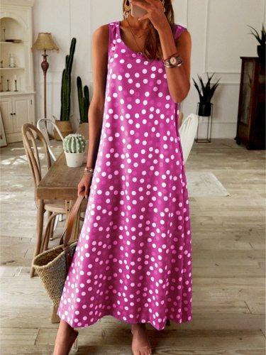 Sleeveless Dressessummer maxi dresses for women hawaiian dress