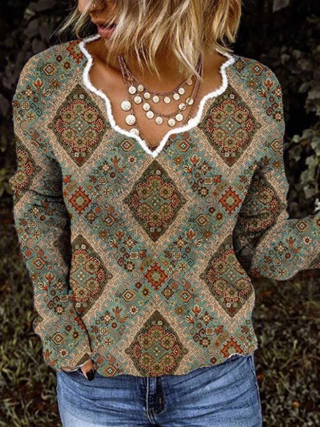 Casual Long Sleeve Acrylic Shift Sweater