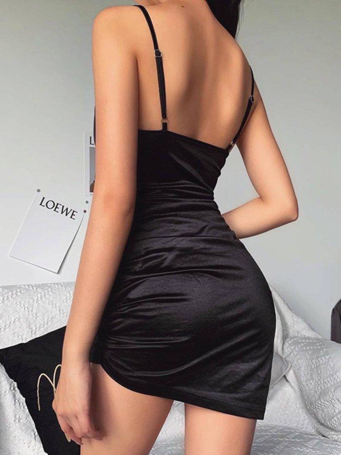 Party Sleeveless Dresses Sexy women halter evening dresses